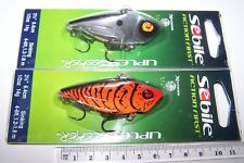 SEBILE Fishing lures PAIR OF LIPLESS SEEKER CRANK high quality lures, Bass, Cod.