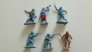 Vintage French Foreign Legion toy soldiers by Crescent and Timpo