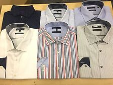 X M&S Supima® Cotton Autograph Tailored Fit Luxury Shirt Casual Smart Brand New