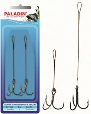 Paladin Stinger - Vorfach,Einhängedrilling 7,5cm Gr.2 Angsthaken