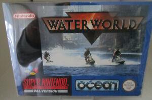 Water World (Nintendo SNES) PAL OVP/Modul/Anleitung