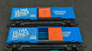 2X Model Power BOXCARs. ULTRA Series Gaskets PERMATEX PROMO HO Scale, VINTAGE