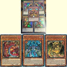 Sacred Beasts Gods 8 Ultras* Set: Complete Exodia Set + Uria Raviel Hamon yugioh