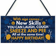 Funny 40th 50th 60th Birthday Gifts For Men Women Decorations Plaque