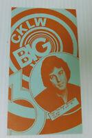 CKLW Big 30 Detroit Windsor Music Chart October 10 1978 Exile Kenny Loggins