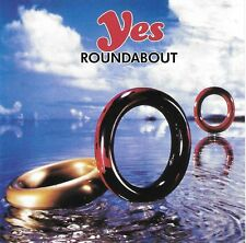 "YES ""Roundabout"" Live 1974 & 1978 Italian ""Living Legends"" 1990 CD"