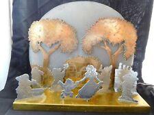 More details for beautiful vintage snow white shop display american folk art lamp