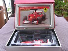 MSC Schumacher F1 Ferrari 2000 1:43 GP USA SPECIAL LIMITED BOOK BOX EDITION NEW!