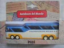 SULTANA MEXICO/PERU BUS 1:72 - IXO, VERY RARE, DIECAST, METAL, BRAND NEW IN BOX.