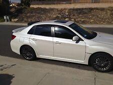 Speedzone Rear Roof Visor With Brackets JDM Subaru Wrx Sti 08 09 10 11 12 13 14