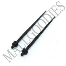 0602 Black Stretchers Tapers Expenders 14G 14 Gauge 1.6