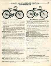 1953 AD 5 Pg Bike Bicycle Schwinn Deluxe Spitfire World Traveler Dynohub Tank