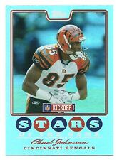 Chad Johnson 2008 Topps Kickoff Stars Of The Game Card, # SG-CJ, Cincinnati