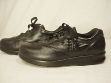 SAS Womens 6.5 M Free Time Black Leather Tripad Comfort Lace Up Shoes Sneakers