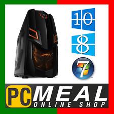 INTEL Core i7 7700 Max 4.2GHz RX 570 4GB 1TB 8GB Gaming Computer Quad Desktop PC