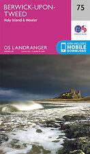 Berwick upon Tweed Landranger Map 75 Ordnance Survey 2016