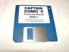 Captain Comic II Fractured Reality (PC, 1990) 3.5 floppy disk