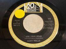 Mary Wells: Use Your Head / Everlovin' Boy 45 - Northern Soul