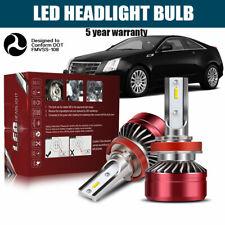 H11 H8 H9 LED Headlight Bulb 60W 12000LM Kit Low Beam Premium 6000K White DWI