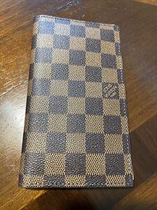 Damier Ebene Repurposed Louis Vuitton Long Wallet