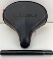 Huffy Replacement Seat Wide Padded Cruiser Carlisle Seat Only New With Post