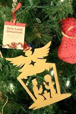 Genuine Poplar Wood Ornament, Nativity Angel by Tree of Life