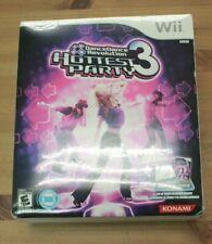 Dance Dance Revolution Hottest Party 3 Nintendo Wii Bundle Game & Mat NEW SEALED