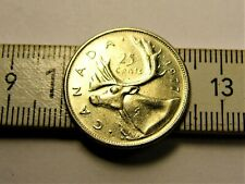 Canada 25 cents 1977 year collectible coin money for collection #31