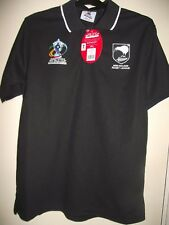new zealand world cup 2013 england&wales small black rugby league shirt mint