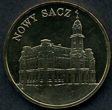 POLAND 2 Zlote 2006 Nowy Sacz Church UNC