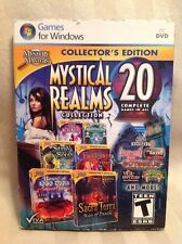 Mystery Masters: Mystical Realms Collection - 20 Pack! PC Video Games! New! A22