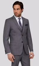 """TED BAKER """"CAREZJ""""GREY 100%WOOL TAILORED OCCASION JACKET BNWT  6/ 44 R RRP £225"""