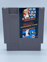 Super Mario Bros + Duck Hunt (Nintendo Entertainment System, 1985) NES Tested