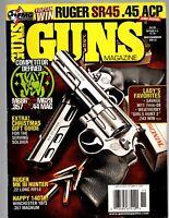 THREE GREAT OLD GUN MAGAZINES:GUNS MAGAZINE, GUNS & AMMO AND SHOOTING TIMES