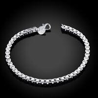"""Bracelet argent mailles """"Vénitiennes"""" ou """"Box"""" - Envoi de France le jour même"""