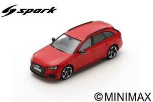 Model Car Scale 1:43 Spark Model Audi Rs 4 Misano vehicles road rs4
