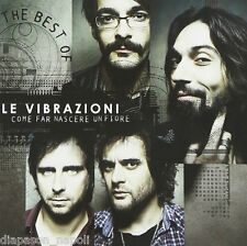 Le Vibrazioni : Come far nascere un fiore, The Best Of  - CD