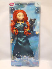 Disney Store Brave Princess Merida Doll With Bear Cub 12""