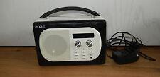 PURE EVOKE MIO DAB+/FM RADIO NOIR LEDEROPTIK   DIGITAL RADIO NEU