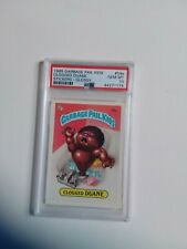 PSA 10 1985 Topps Garbage Pail Kids Stickers #59a Clogged Duane Glossy Series 2