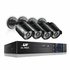 UL-TECH NAI-CCTV-4C-4B-BK Four Channel CCTV Security Camera