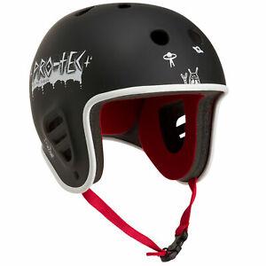 Pro-Tec x Wes Jacobsen Full Cut Water w/ Clip (Black) Wakeboard Helmet