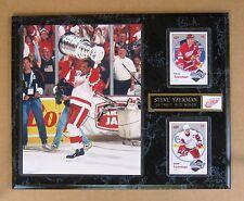 Detroit Red Wings' Steve Yzerman Stanley Cup Photo Plaque