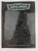 GW Warhammer 40K Chapter Approved Book - Warhammer 40,000 Annual 2001 OOP