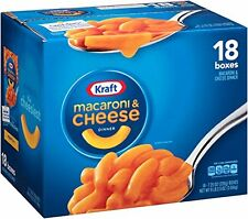 Kraft Macaroni & Cheese Dinner, Original, 7.25 oz each,18 Pack