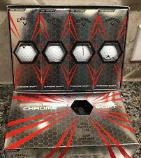 Callaway ChromeSoft X Golf Balls New Tour Ball 4 Pks Of 3 (12 Balls) Nib