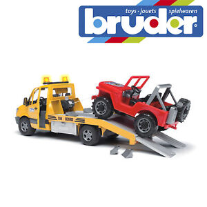 Bruder MB Sprinter & Cross Country Vehicle Childrens Kids Toy Model Scale 1:16