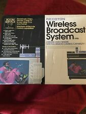 Vintage Recoton Room Service V905 Wireless Broadcasting System New In Box A/V