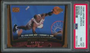 1998 Upper Deck Bronze #23 Michael Jordan 92/100 PSA 8