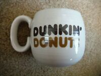 Vintage Dunkin' Donuts The Big One! Mug Cup Counter Coffee Mug